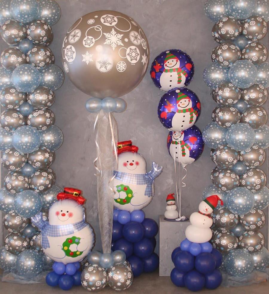 Украшения к новому году шарики